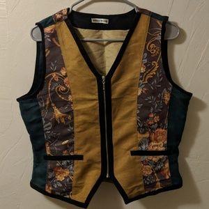 stunning, suede vest!